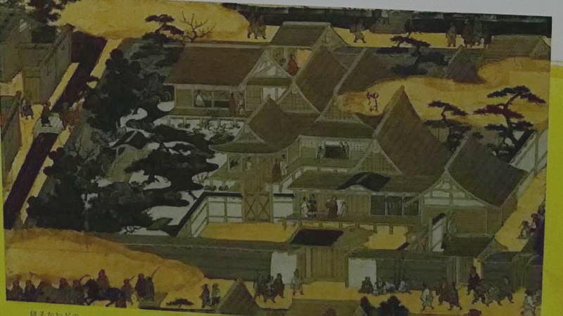 上杉本洛中洛外図屏風「 細川殿 」