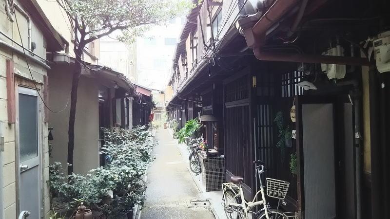 京都 路地 あじき路地3/京都 ブログガイド