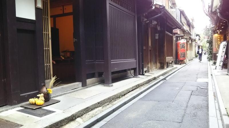 京都 路地 先斗町/京都 ブログガイド