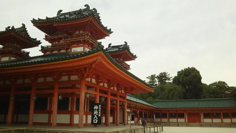 平安神宮8 / 京都 ブログ ガイド