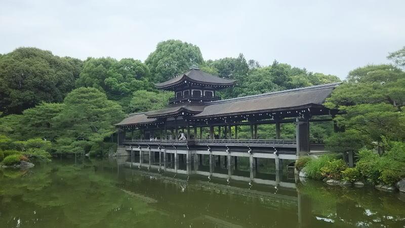 平安神宮 神苑11/ 京都 ブログ ガイド