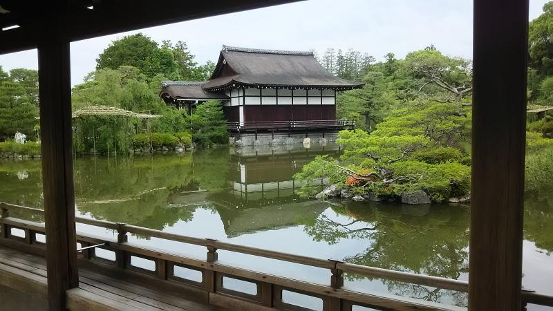 平安神宮 神苑13/ 京都 ブログ ガイド
