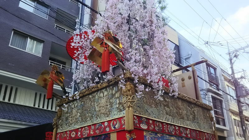 2018 祇園祭 後祭 黒主山 / 京都 ブログ ガイド