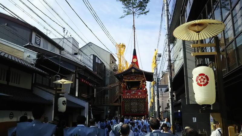 2018 祇園祭 後祭 南観音山 / 京都 ブログ ガイド
