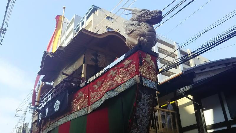 2018 祇園祭 後祭 大船鉾 / 京都 ブログ ガイド