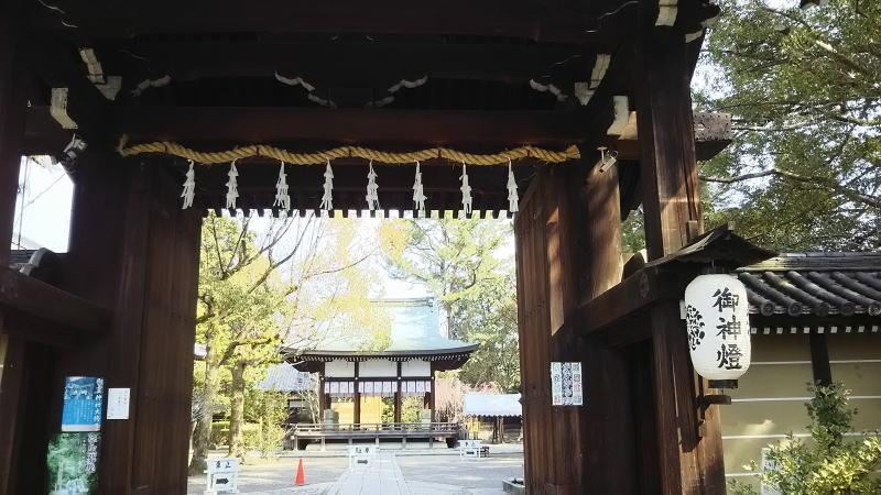 御霊神社( 上御霊神社 ) / 京都 ブログ ガイド