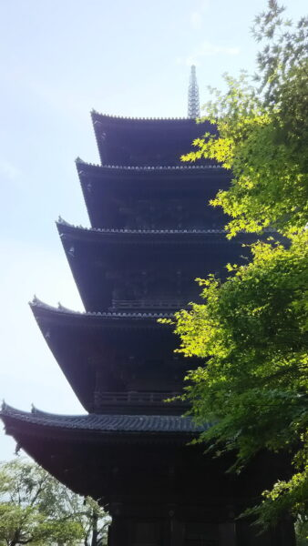 五重塔/ 京都 ブログ ガイド