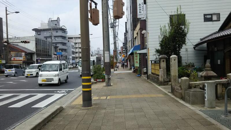羅城門跡 2/ 京都 ブログ ガイド