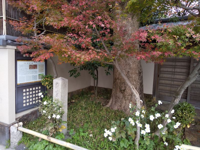 千本通 朱雀門跡 / 京都 ブログガイド