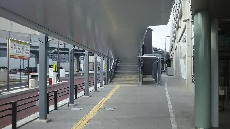中央市場への階段 / 京都 ブログ ガイド