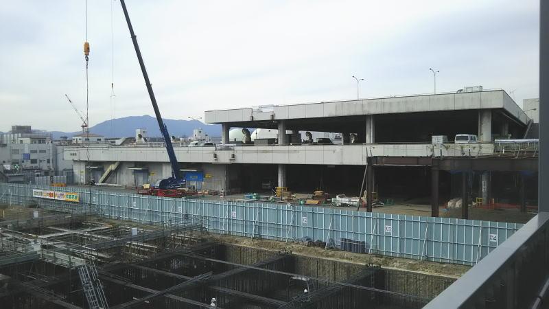 ホテル建設中 / 京都 ブログ ガイド