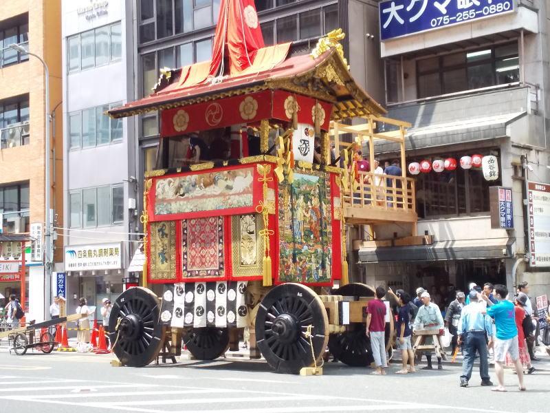 2019 祇園祭 前祭 函谷鉾/ 京都 ブログ ガイド