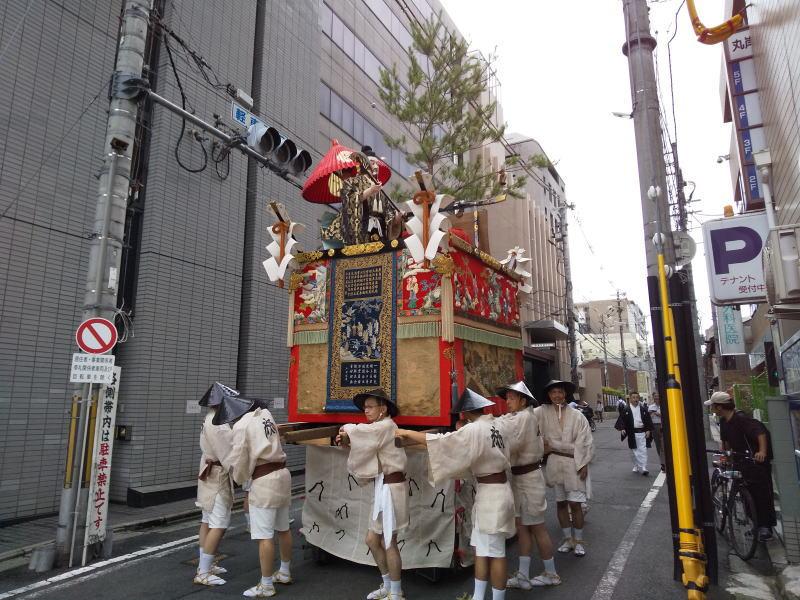 2019 祇園祭 前祭 伯牙山/ 京都 ブログ ガイド