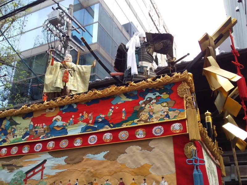 2019 祇園祭 後祭 橋辨慶山/ 京都 ブログ ガイド