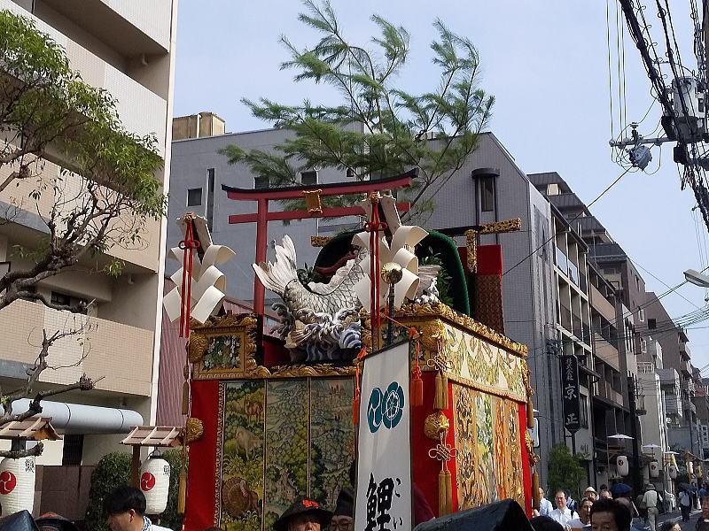2019 祇園祭 後祭 鯉山/ 京都 ブログ ガイド