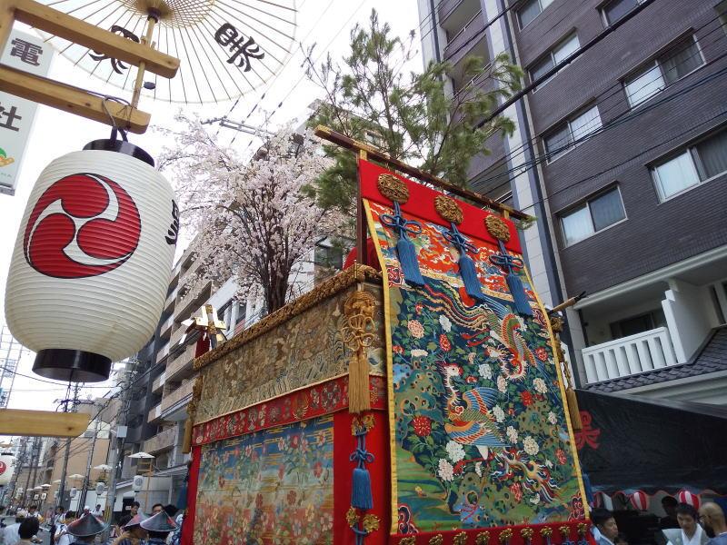 2019 祇園祭 後祭 黒主山/ 京都 ブログ ガイド