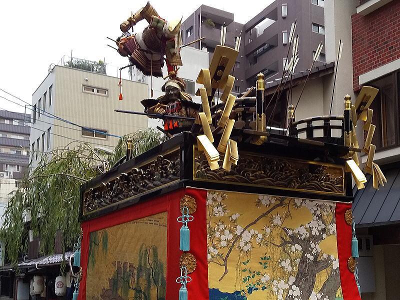 2019 祇園祭 後祭 浄妙山/ 京都 ブログ ガイド