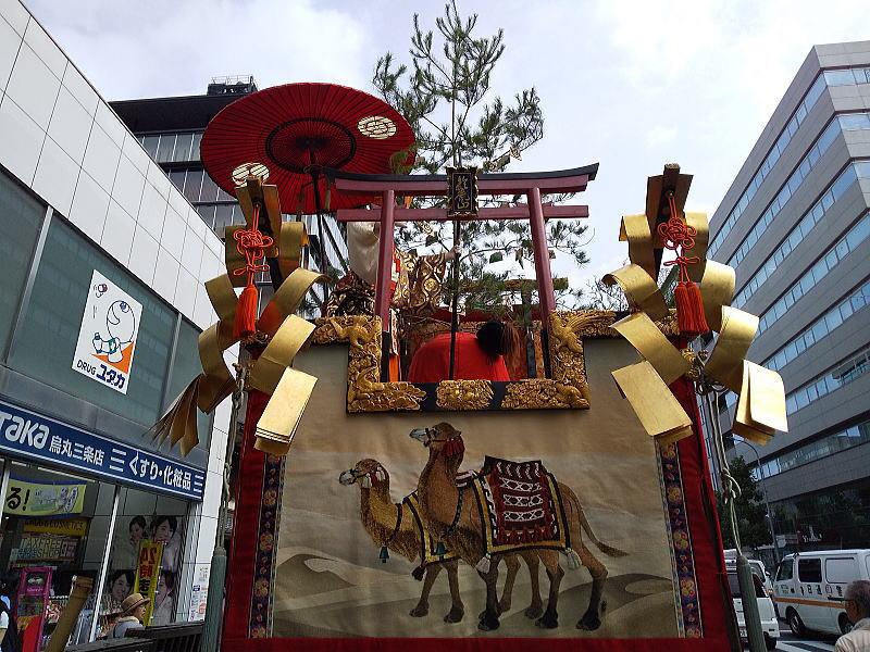 2019 祇園祭 後祭 鈴鹿山/ 京都 ブログ ガイド
