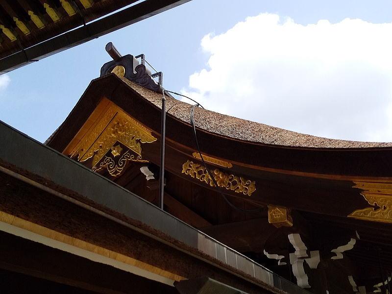 本殿回廊 / 京都 ブログ ガイド