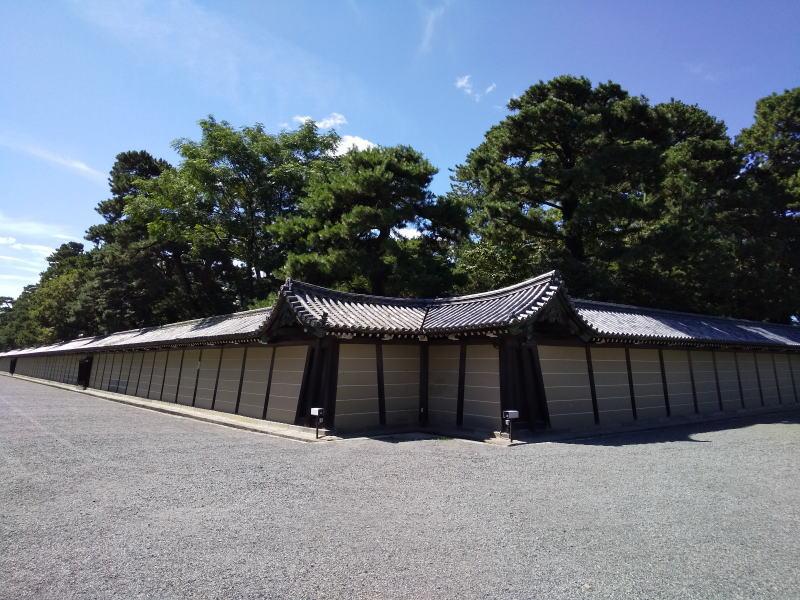 京都御所 猿が辻 / 京都 ブログ ガイド