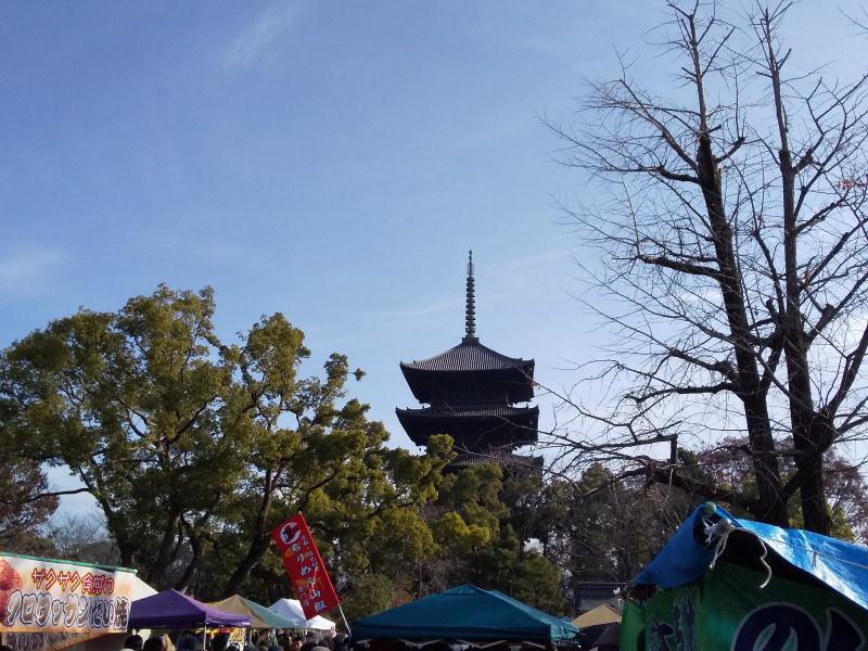 2020年12月 京都イベント情報 終い弘法 / 京都 ブログ ガイド