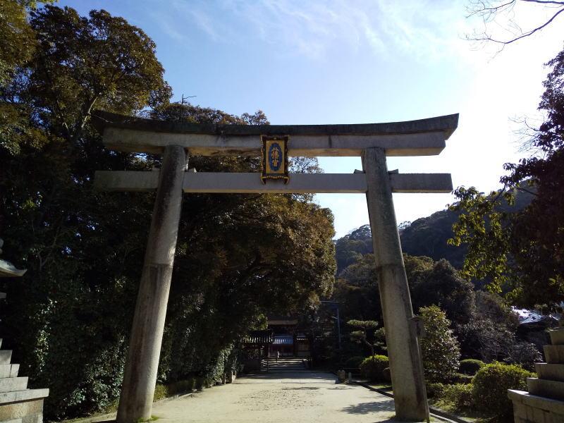 石清水八幡宮 一の鳥居 / 京都 ブログ ガイド