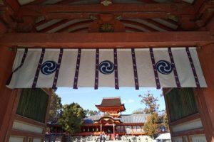 京都 必勝・勝負運 石清水八幡宮 / 京都 ブログ ガイド