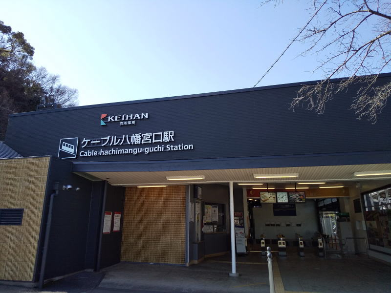 ケーブル八幡宮口駅 / 京都 ブログ ガイド