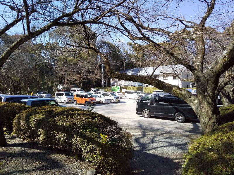 石清水八幡宮 駐車場 / 京都 ブログ ガイド