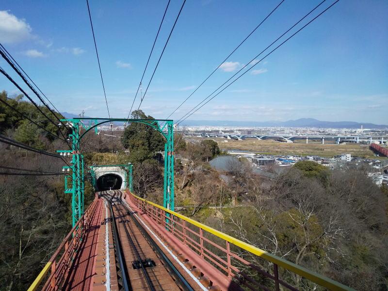 ケーブルからの眺め / 京都 ブログ ガイド