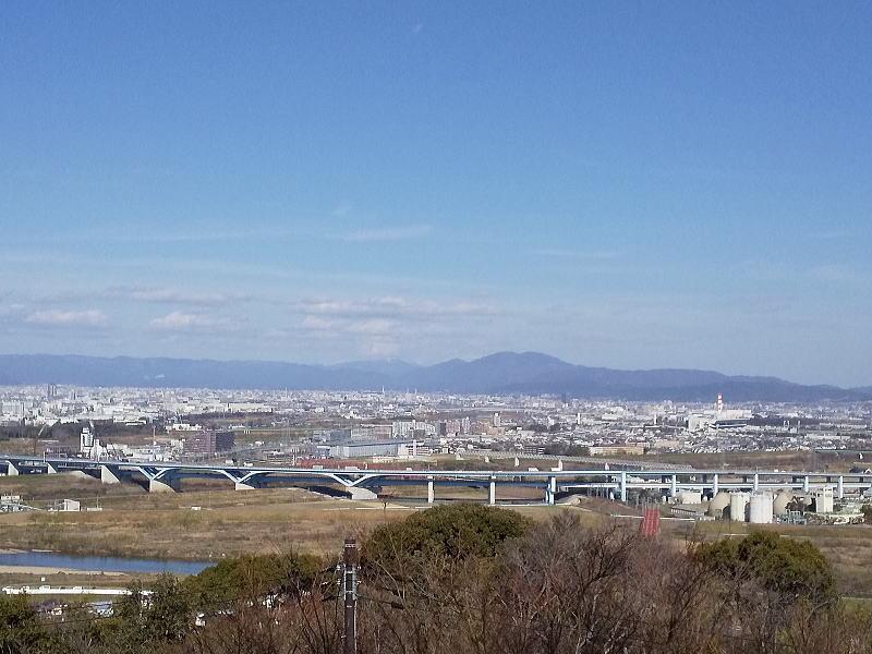 展望台からの眺め / 京都 ブログ ガイド
