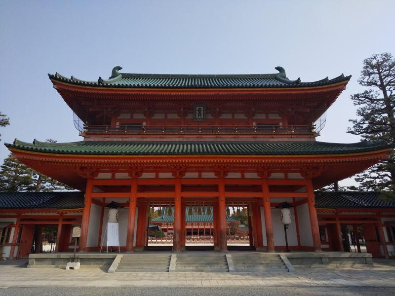 平安神宮 應天門(おうてんもん) / 京都 ブログ ガイド