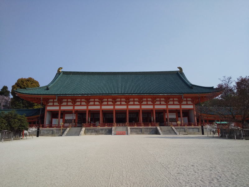 平安神宮 大極殿 / 京都 ブログ ガイド