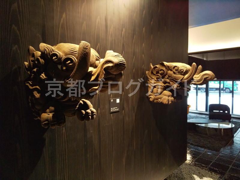 旧本堂の木鼻 / 京都ブログガイド