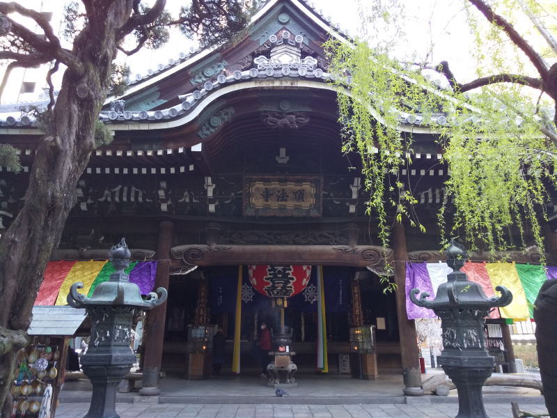 六角堂の本堂 2021 / 京都ブログガイド