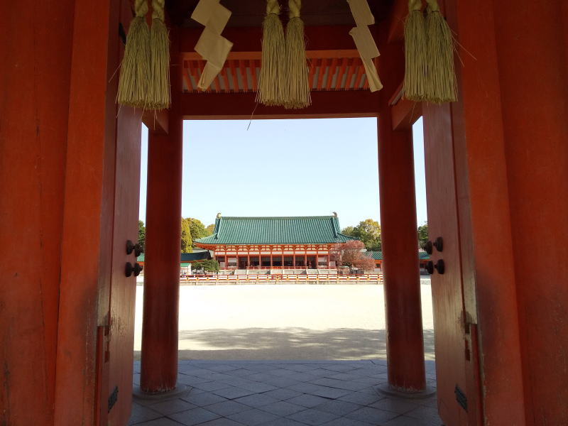 平安神宮應天門 / 京都ブログガイド
