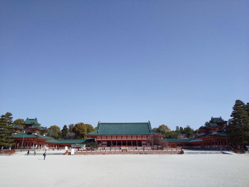 平安神宮 桜 2021