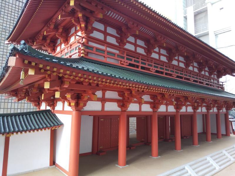 JR京都駅前 羅城門 復元模型